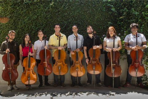 Sao Paulo Unicamp Cello Ensemble